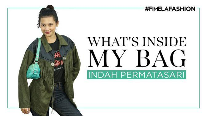 What's In My Bag Indah Permatasari