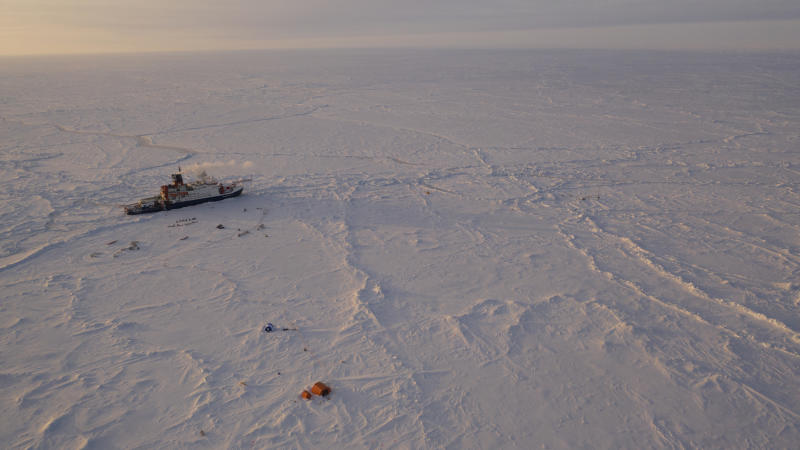 Virus Outbeak Arctic Expedition