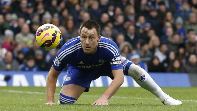 3. John Terry (Chelsea) 41 Gol. (AFP/Justin Tallis)