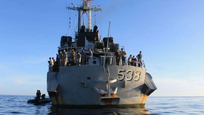 KRI Teluk Hading 538, Kapal Perang Jerman Dibeli Jenderal Soeharto