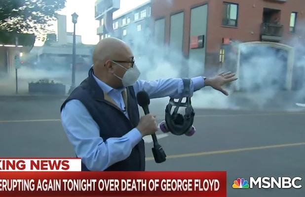 Trump 'Endangers' Lives of Journalists After He Mocks Reporter Shot With Rubber Bullet, MSNBC Says