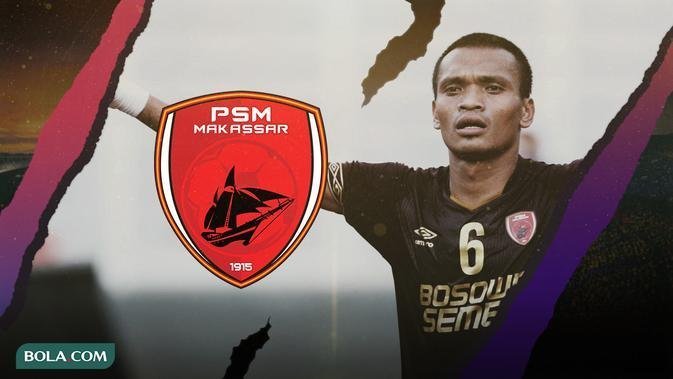 Pemain PSM Makassar: Ferdinand Sinaga. (Bola.com/Dody Iryawan)