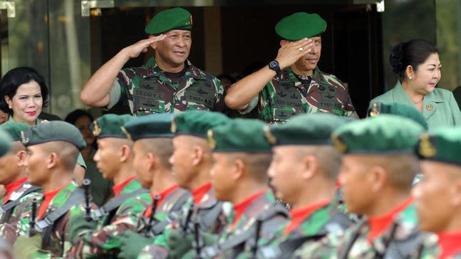 Komandan Komando Pendidikan dan Pelatihan TNI Angkatan Darat (Dankodiklat AD) Letjen Agus Sutomo. (Liputan6.com/