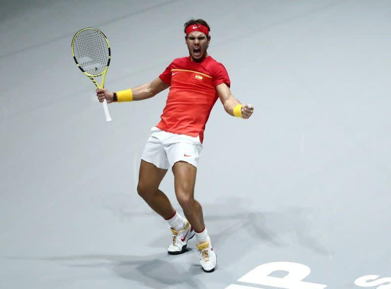 Nadal selamatkan Spanyol di Piala Davis