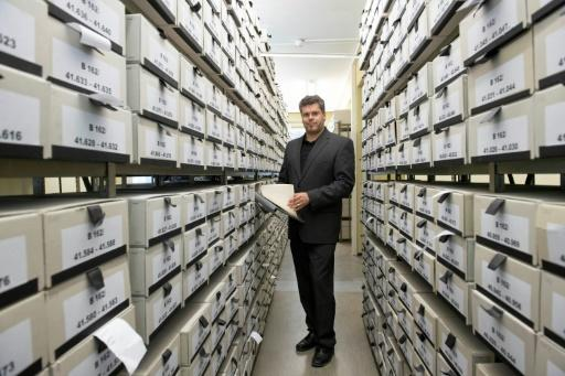 From Hitler to the lowliest soldier, every Nazi wrongdoer identified is catalogued in a database of one million seven hundred thousand cardboard files