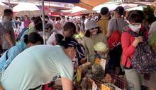 傳統市場人潮持續 經濟部宣布5大管制措施