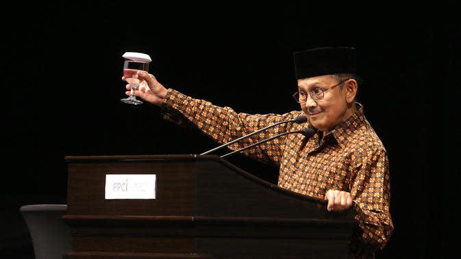 BJ Habibie (Liputan6.com/Faizal Fanani)