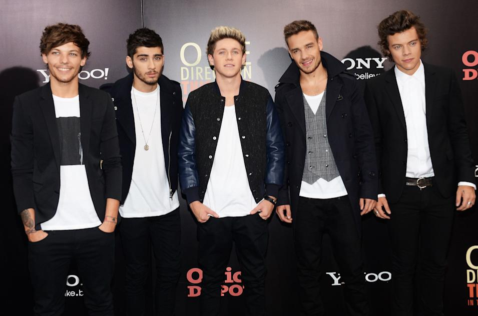 """""""One Direction: This Is Us"""" World Premiere - Arrivals"""