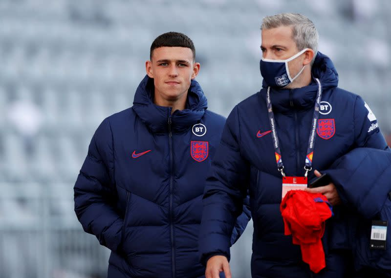 Greenwood and Foden out of England squad after breach of quarantine