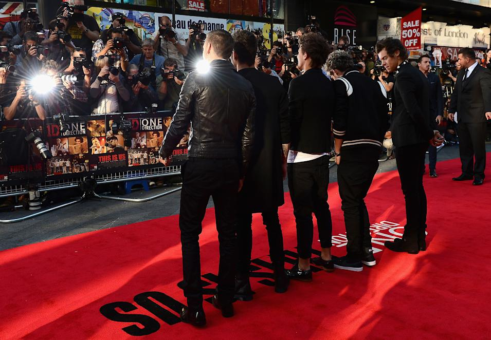 World Premiere Of  'One Direction This Is Us'