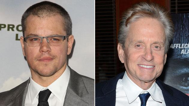 Matt Damon calls Michael Douglas 'a wonderful kisser' in 'Behind the Candelabra'