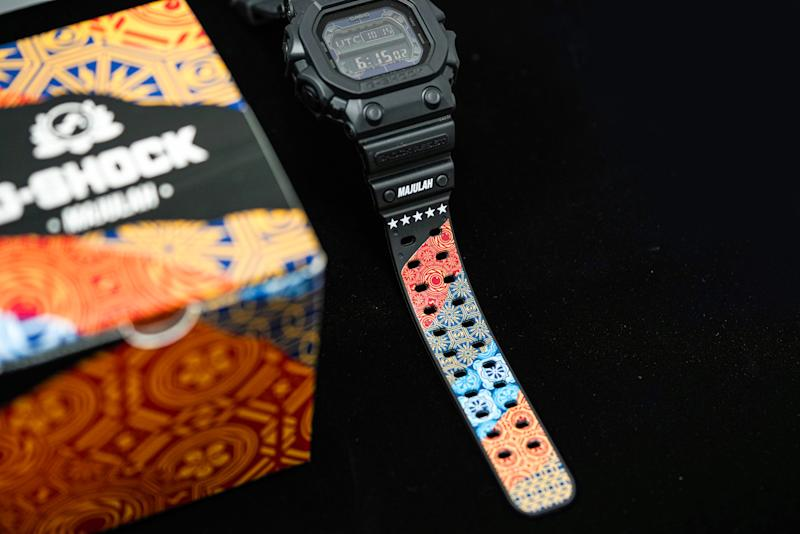The Casio G-SHOCK x Sam Lo timepiece. (PHOTO: Casio)