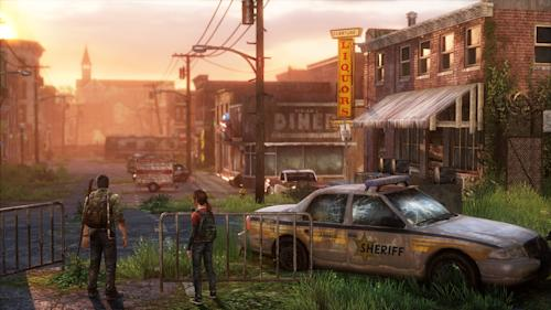 "FILE - This video game image released by Sony shows a scene from ""The Last of Us."" (AP Photo/Sony)"