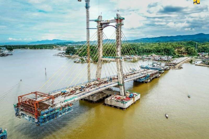 PUPR: Konstruksi jembatan Teluk Kendari capai 85 persen