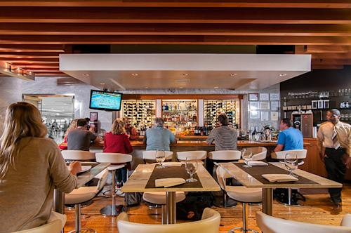 With these gourmet airport restaurants, you can skip the food court