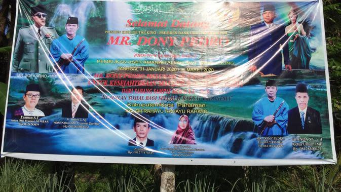 Heboh Kemunculan Indonesia Mercusuar Dunia di Pariaman