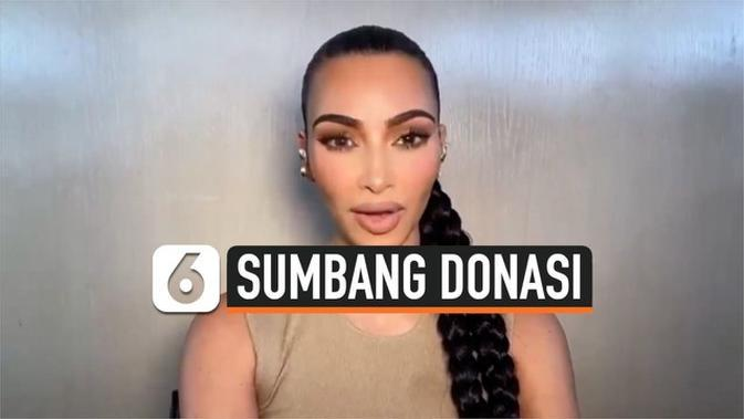 VIDEO: Kim Kardashian West Sumbang Donasi untuk Korban Perang Azerbaijan dan Armenia
