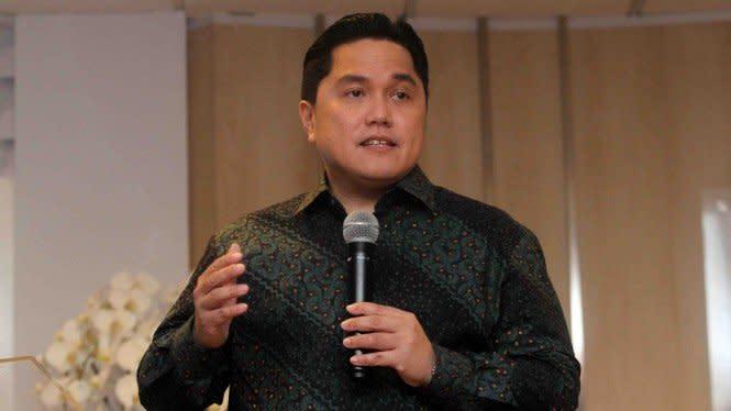 Erick Thohir Jadikan A.K.H.L.A.K 'Core Value' Kementerian BUMN