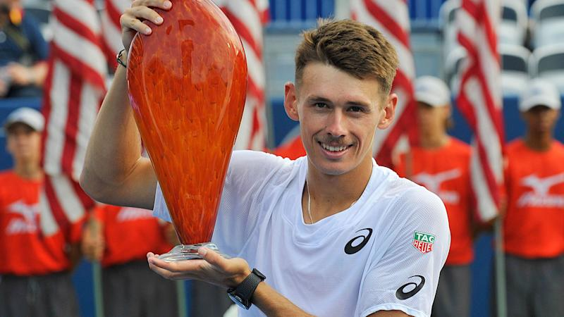 Alex de Minaur claims second ATP title with victory at Atlanta Open