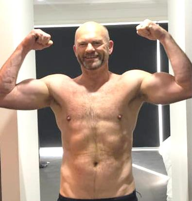 Blair is feeling fighting fit after shedding 15kg in two months. Photo: Supplied