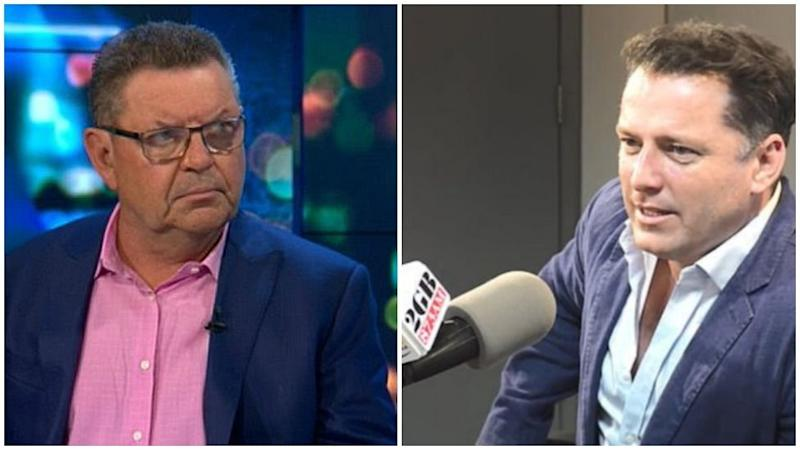 Karl Stefanovic has cleared the air after clashing with Steve Price over 'racist' comments. Photo: Channel 10/2GB.