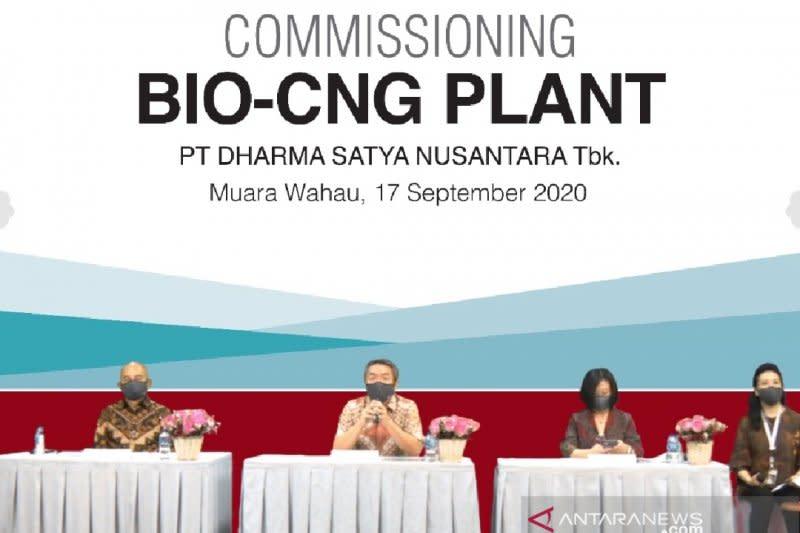 Emiten perkebunan Dharma Satya uji coba produksi Bio-CNG Plant