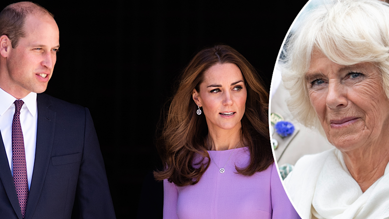 Camilla may have played a role in William and Kate's 2007 split, according to a royal author. Photo: Getty Images
