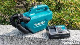 Makita牧田CL121DSA充電式車用吸塵器開箱實測!用最硬派的工具處理車內最軟的那一塊!
