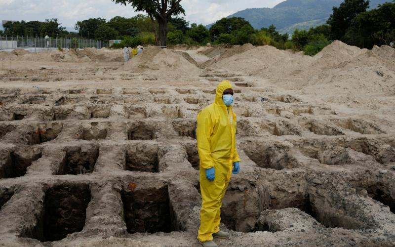 A cemetery in San Salvador - Jose Cabezas/Reuters