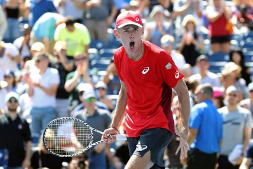 Moustache or not, De Minaur on the rise at US Open