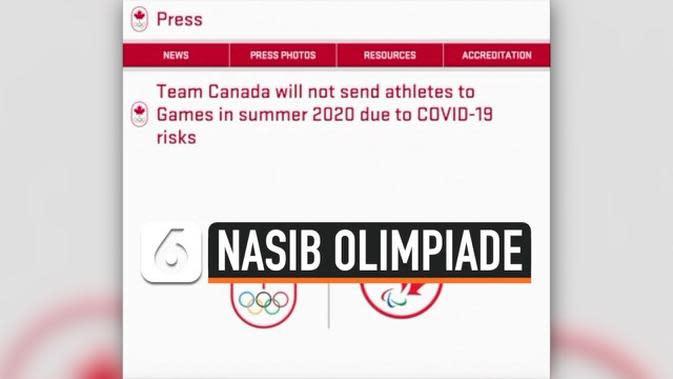 VIDEO: Kanada Batal Kirim Atlet ke Olimpiade 2020 karena Corona