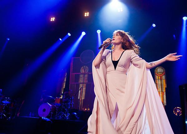 Florence and the Machine Stumble at Radio City Music Hall