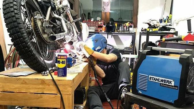 Alat Ini Wajib Dimiliki Bengkel Motor Kustom