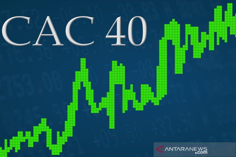 Saham Prancis 'rebound' tipis, indeks CAC 40 naik 0,44 persen