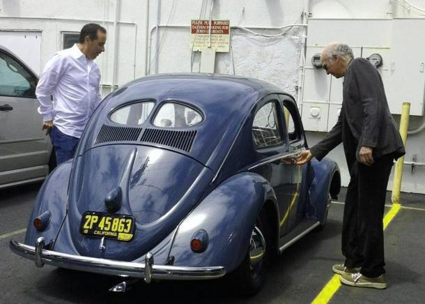 Mystery Jerry Seinfeld project involves classic cars, famous funny pals