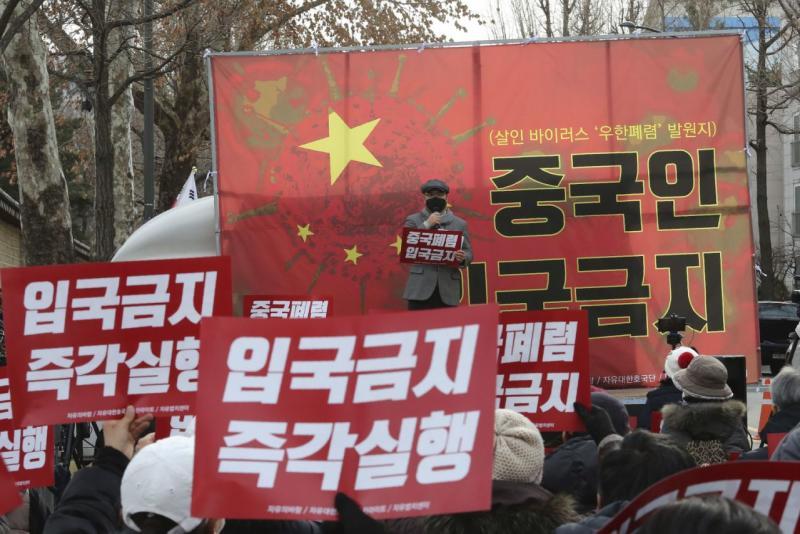 Ketakutan akan virus baru memicu sentimen anti-China di seluruh dunia