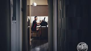 【我們的WFH專輯】陳浩源在家鍛鍊耐性靜候殘奧夢 盼做輪羽球壇「超級丹」