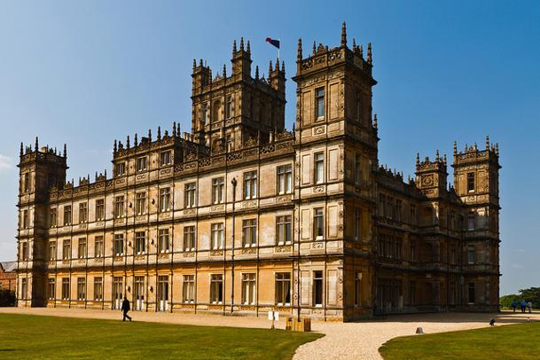 The real 'Downton Abbey'