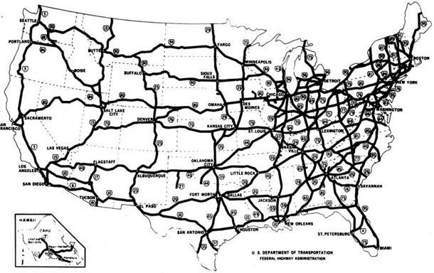 June 26: The U.S. interstate highway system changes America forever on this date in 1956