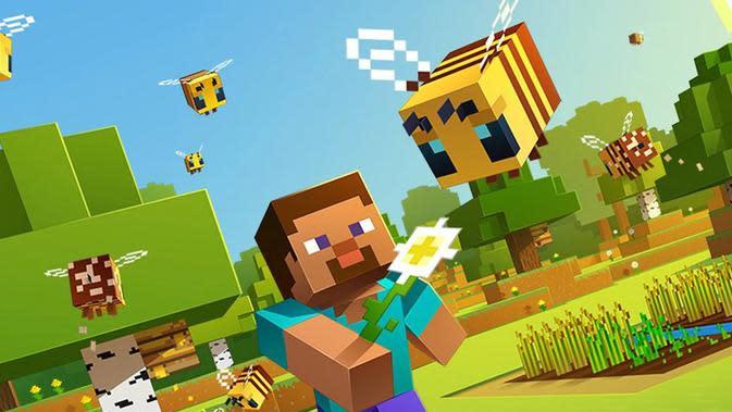 Fantastis, Pemain Aktif Bulanan Gim Minecraft Tembus Angka 131 Juta