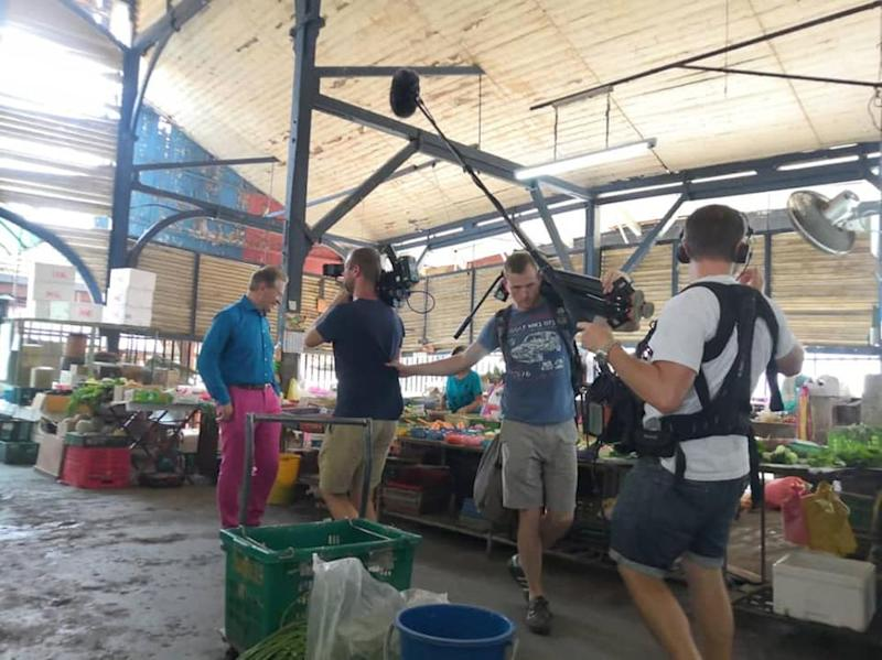 The heritage Taiping Central Market will be immortalised in the 'Great Railway Journeys' travelogue hosted by Micheal Portillo. — Picture via Facebook/ Majlis Perbandaran Taiping
