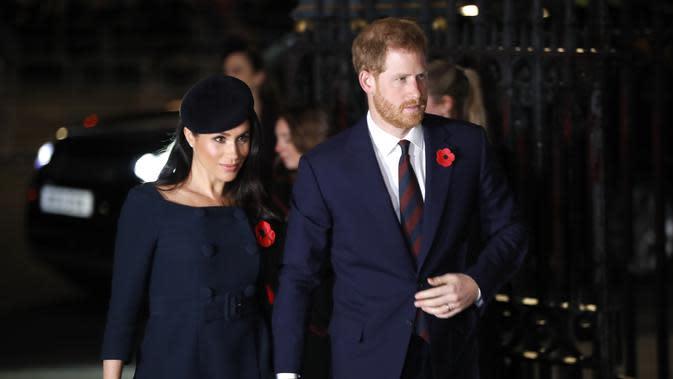 Pangeran Harry dan Meghan Markle. (Tolga AKMEN / AFP)