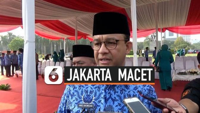 VIDEO: Jokowi Terjebak Kemacetan di Jakarta, Begini Tanggapan Anies
