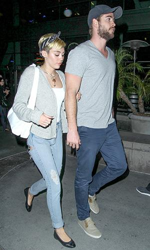 See Miley Cyrus and Liam Hemsworth's First Photograph Together in 5 Months