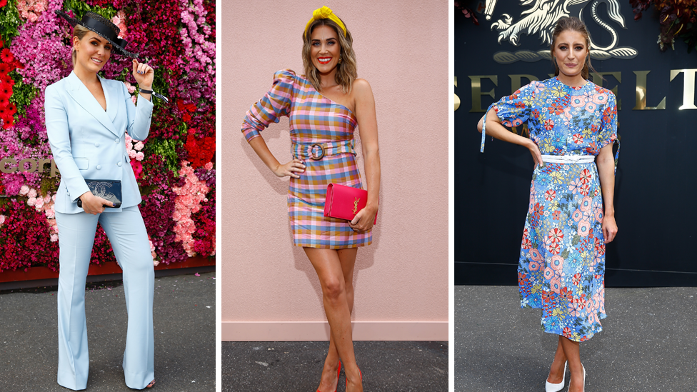 <p>Here are all the striking looks from the fashionable stars attending Stakes Day. Photo: Getty. </p>
