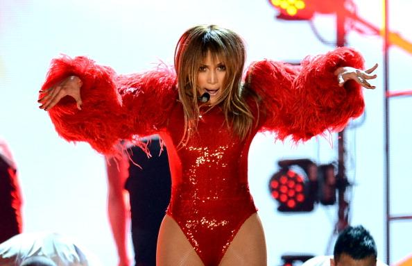Jennifer Lopez Channels Cartoon Character With Daring Outfit at Billboard Music Awards