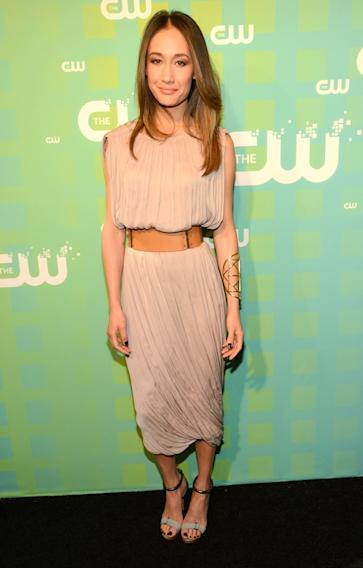 The CW 's 2012 Upfront - Maggie Q