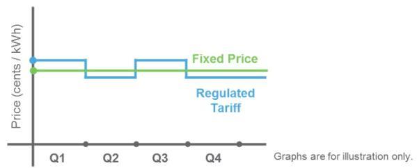 Geneco fixed price plan