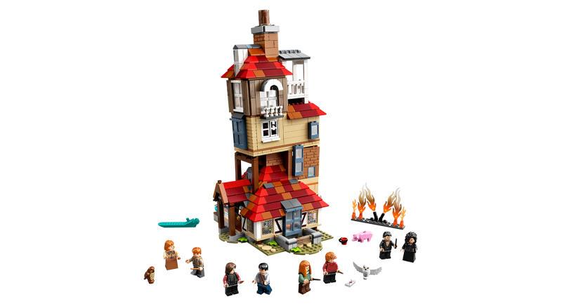 LEGO Harry PotterAttack on The Burrow