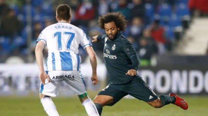 Bek Real Madrid, Marcelo (kanan)